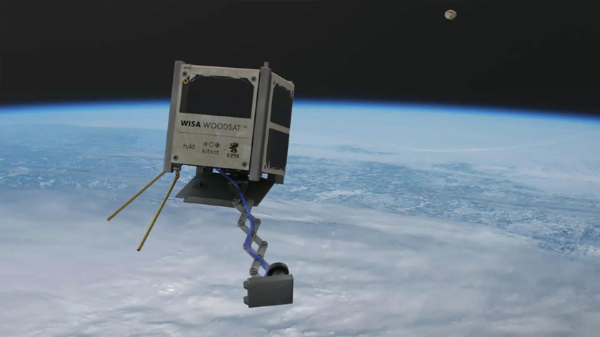 Finlandia apuesta a poner en órbita el primer satélite hecho de madera