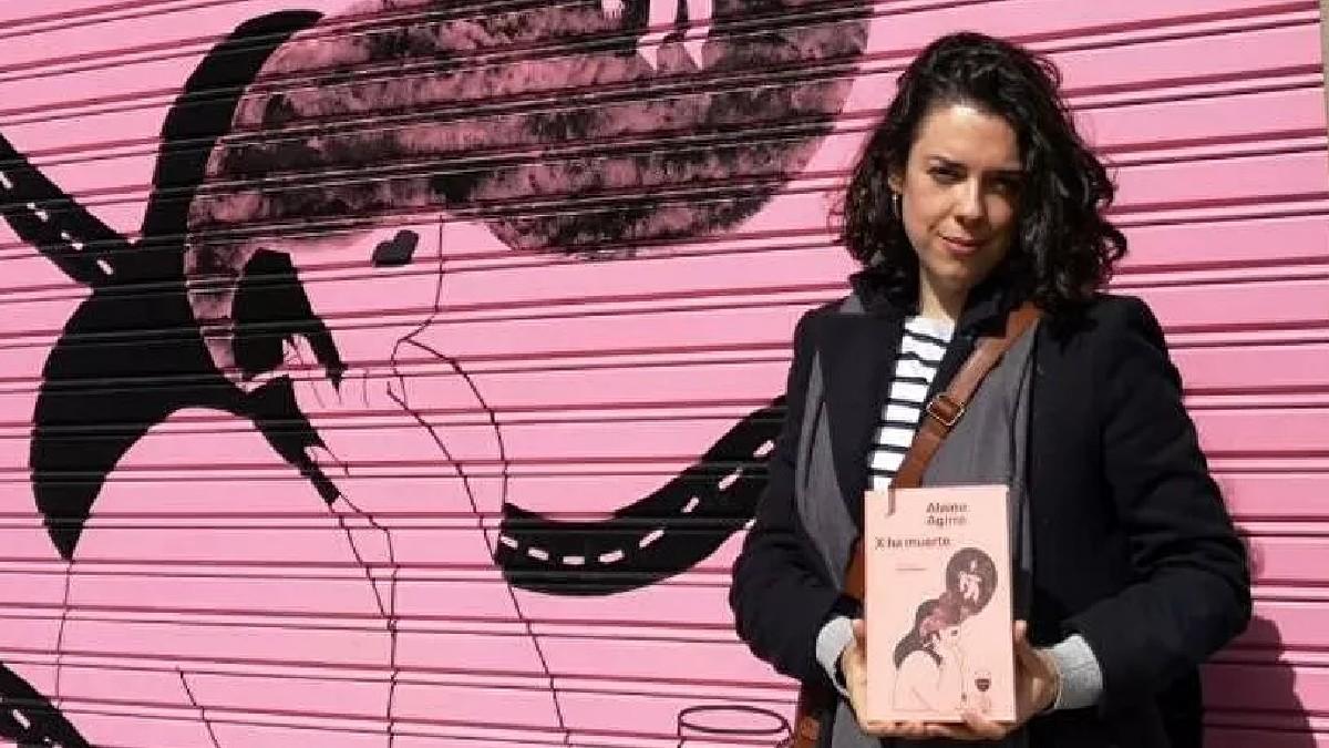 Escritora Alaine Aguirre: «Para mí es necesario tener un día al año para recordarnos que la literatura está aquí para salvarnos»