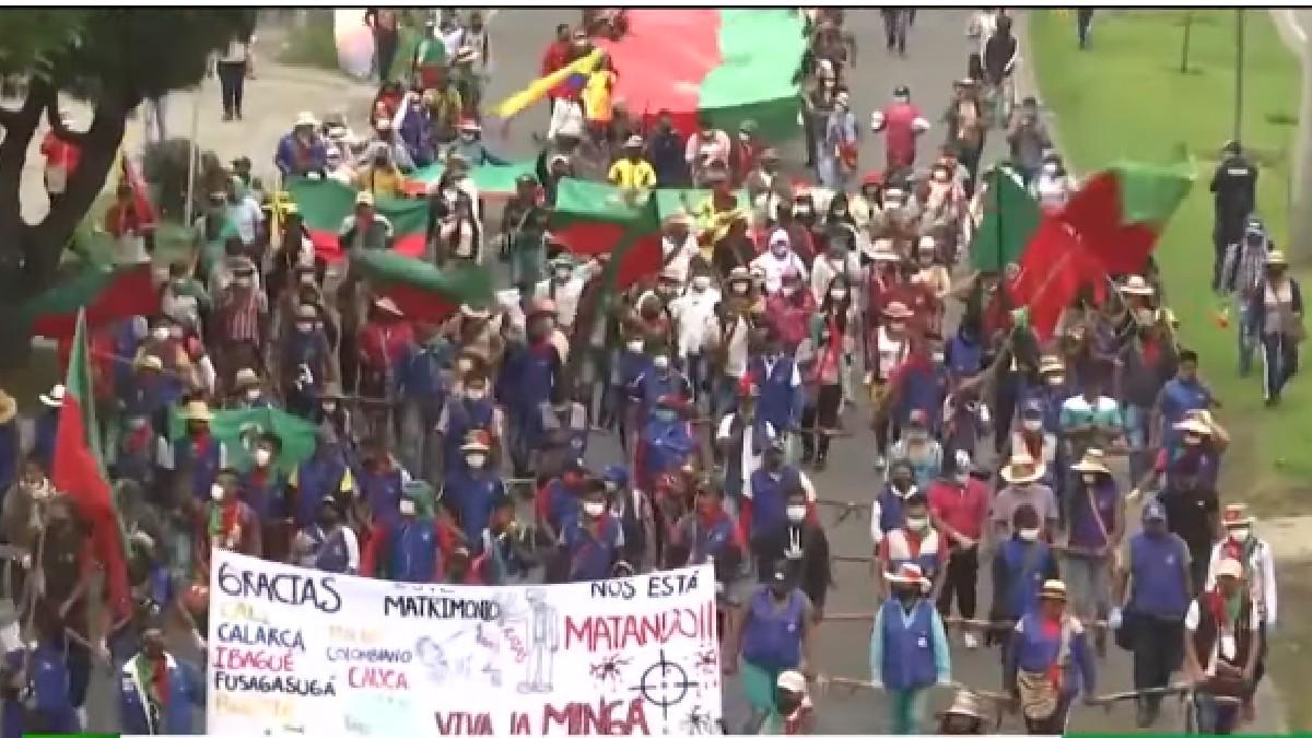 Colombia: Disparan contra manifestantes que protestaban por asesinato de gobernadora indígena en el Cauca