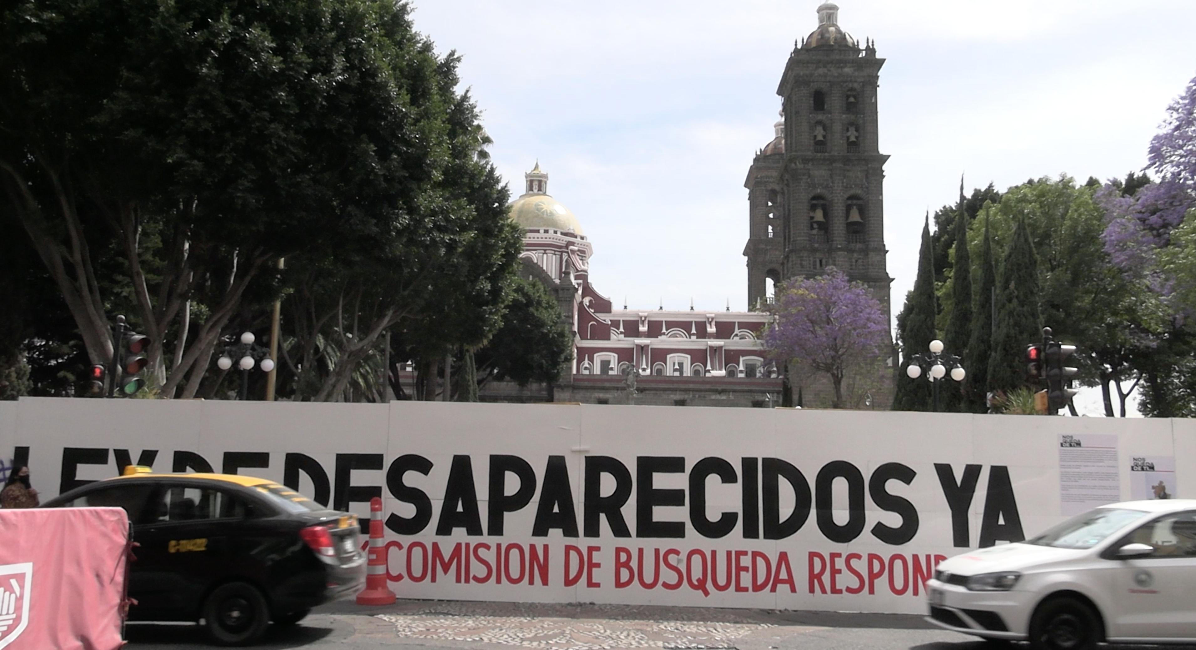 Quitarán la barda del Zócalo de Puebla el próximo 5 de julio