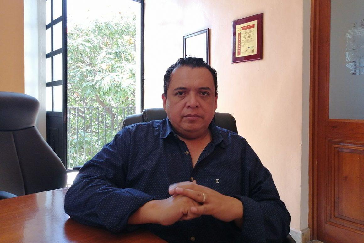 Artemio caballero alcalde suplente de Tehuacán