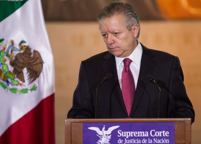 El magistrado presidente de la Suprema Corte de Justicia de la Nación, Arturo Zaldívar