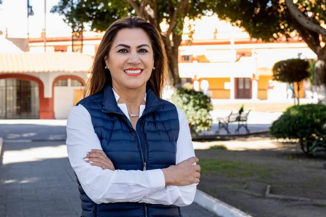 Blanca Jiménez aspirante a lcaldia por partido acción nacional