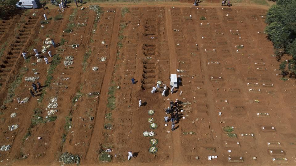 Lamentable: Brasil supera las 360 mil muertes por la COVID-19
