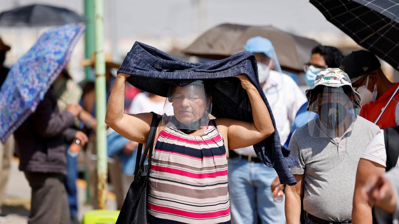 Onda cálida azota gran parte de México