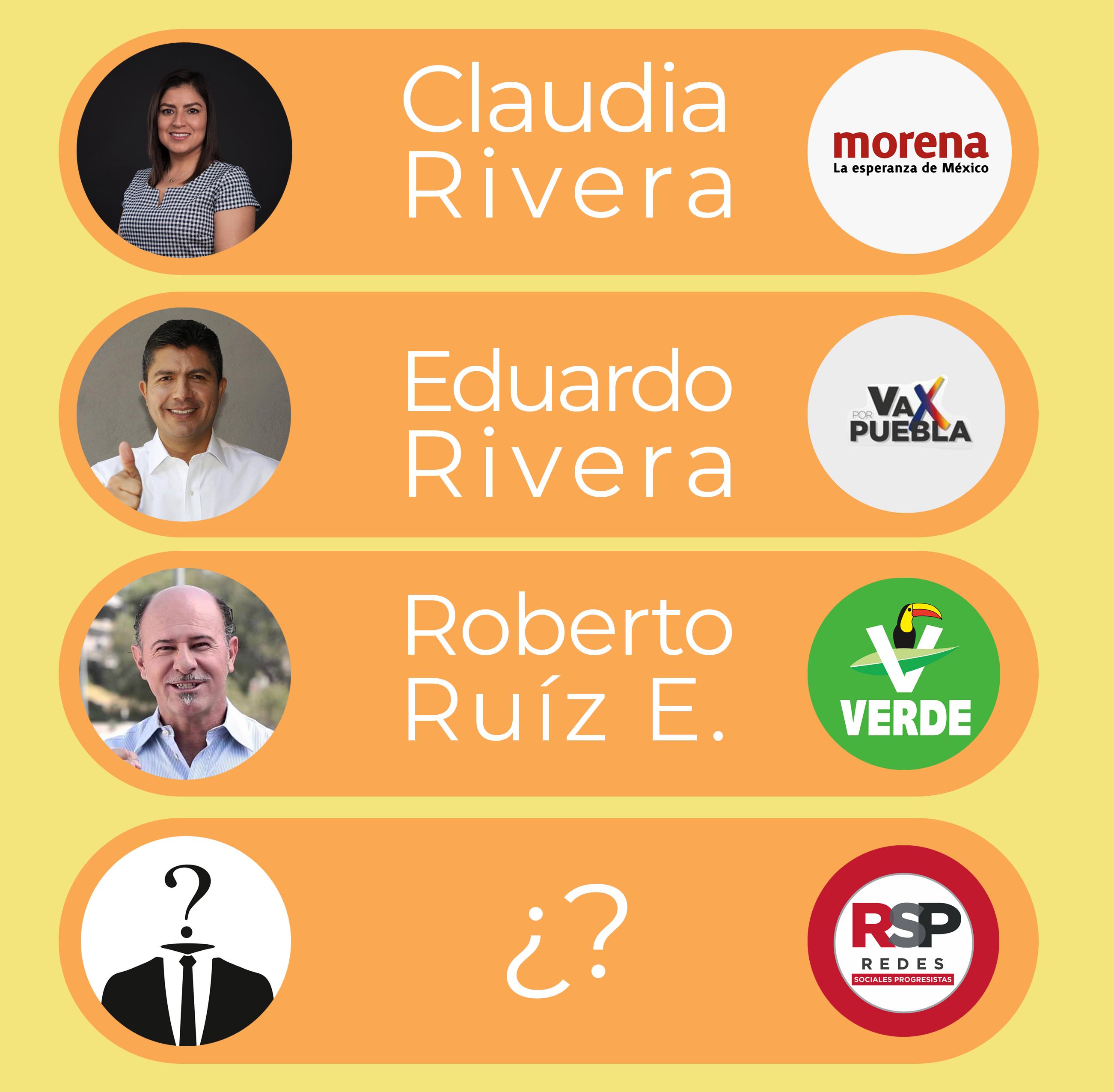 Se registran nueve perfiles para contender por la alcaldía de Puebla; RSP, sin revelar a su elegido