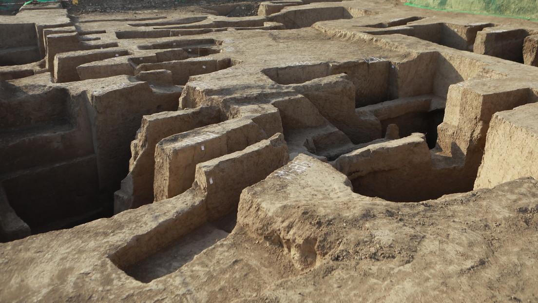 ¡De 3.000 años de antigüedad! Descubren en China vieja edificación en la antigua capital de la dinastía Zhou Occidental