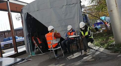 Constructora en Calama mantenía a contagiados con Covid-19 compartiendo espacios comunes con resto de trabajadores
