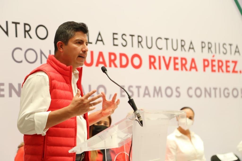 Eduardo Rivera se contagia de Covid-19