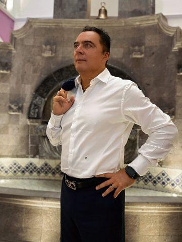 Candidato a la alcaldía en Puebla