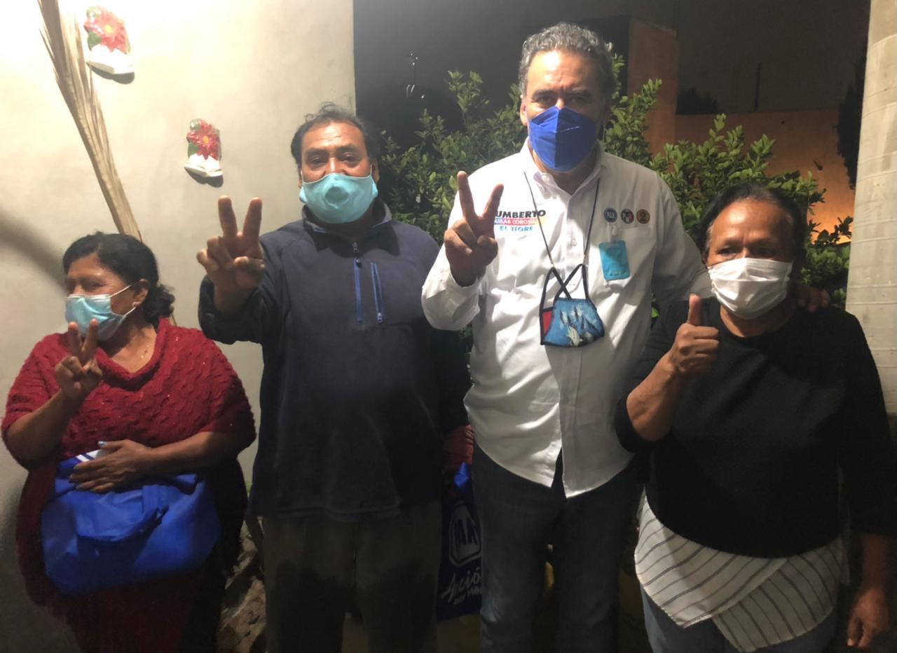 Humberto Aguilar, candidato a diputado federal de Va por Puebla, propone destinar más recursos a la salud