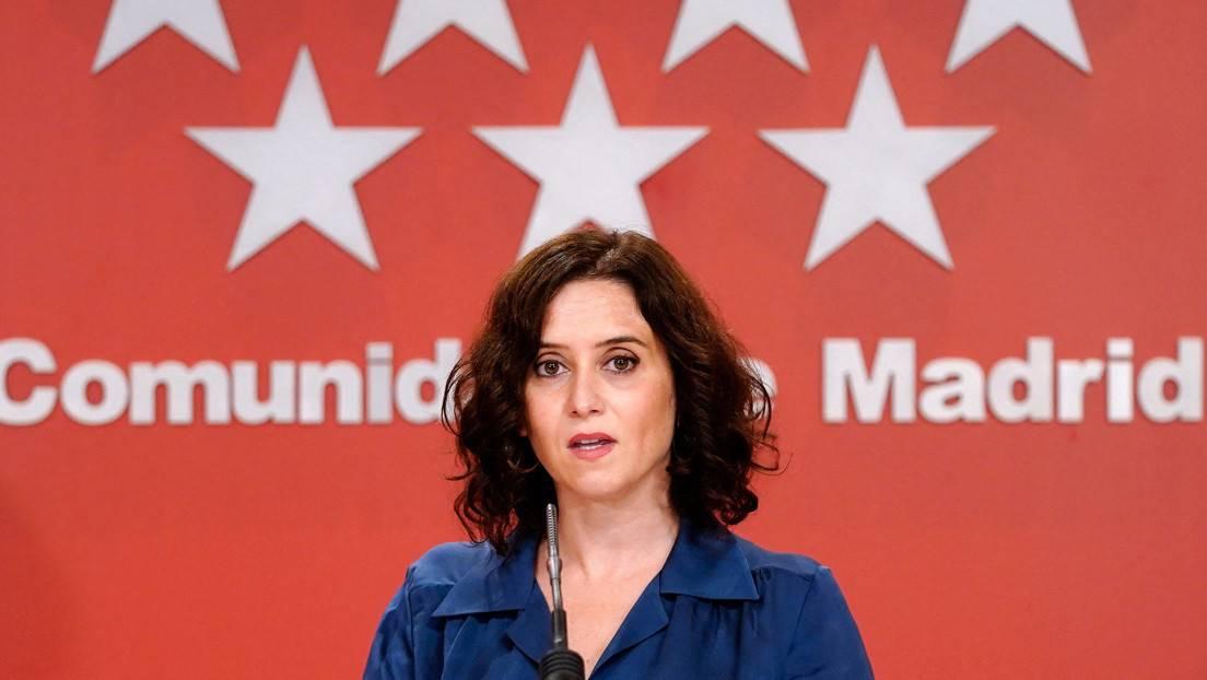 Detectan sobre con dos balas dirigido a la presidenta de la Comunidad de Madrid