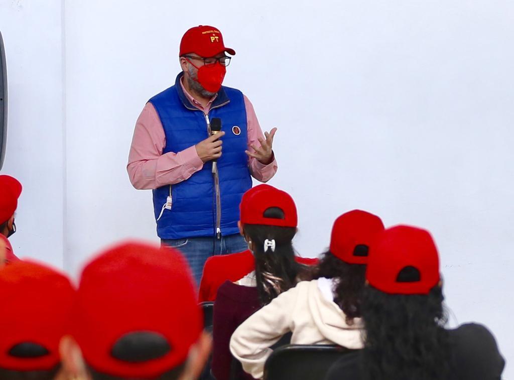 Mauricio Toledo candidato a diputado en San Martín Texmelucan