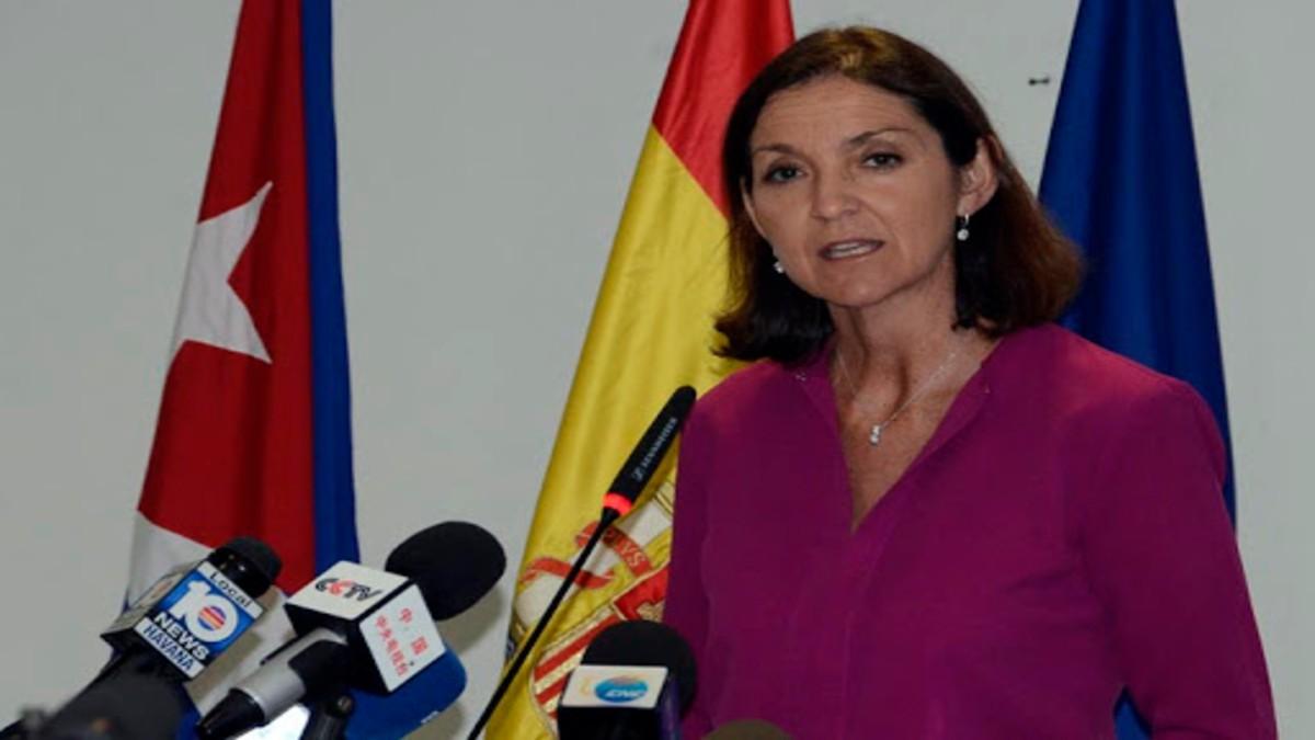 Fue identificado el autor de las amenazas a la ministra de Industria de España