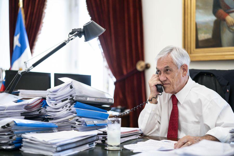 El «telefonazo» de Piñera a senadores y diputados para no hundirse solo