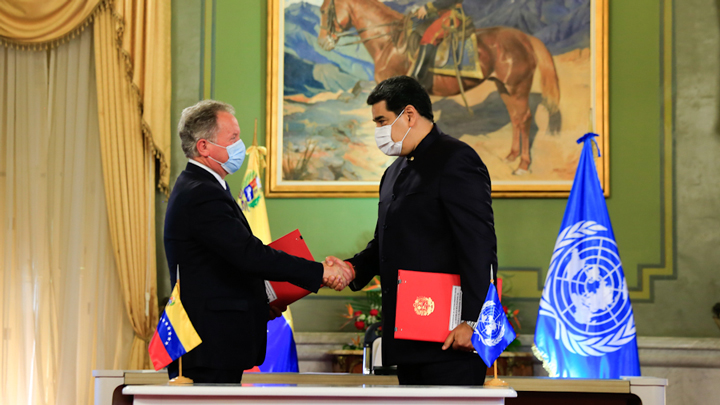 Los puntos claves del acuerdo de Venezuela con el Programa Mundial de Alimentos de la ONU