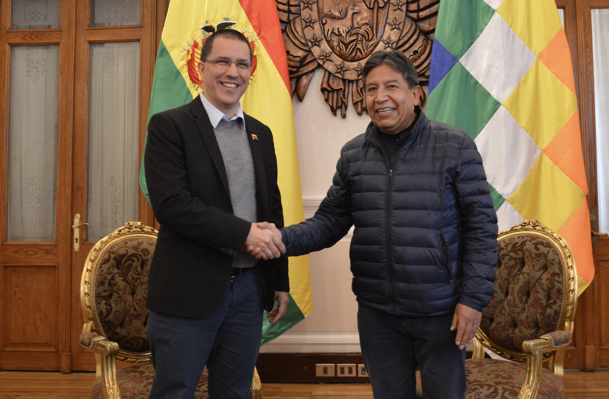 Venezuela y Bolivia analizaron las coyunturas mundiales y regionales