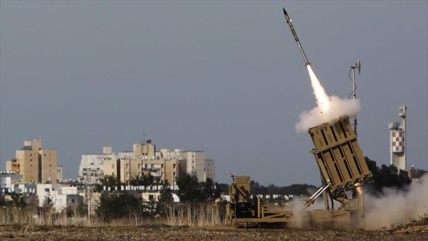 Más de un centenar de misiles disparó resistencia palestina contra territorios ocupados por Israel