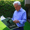 El columnista Agustín Yáñez, autor de Plaza de la Democracia