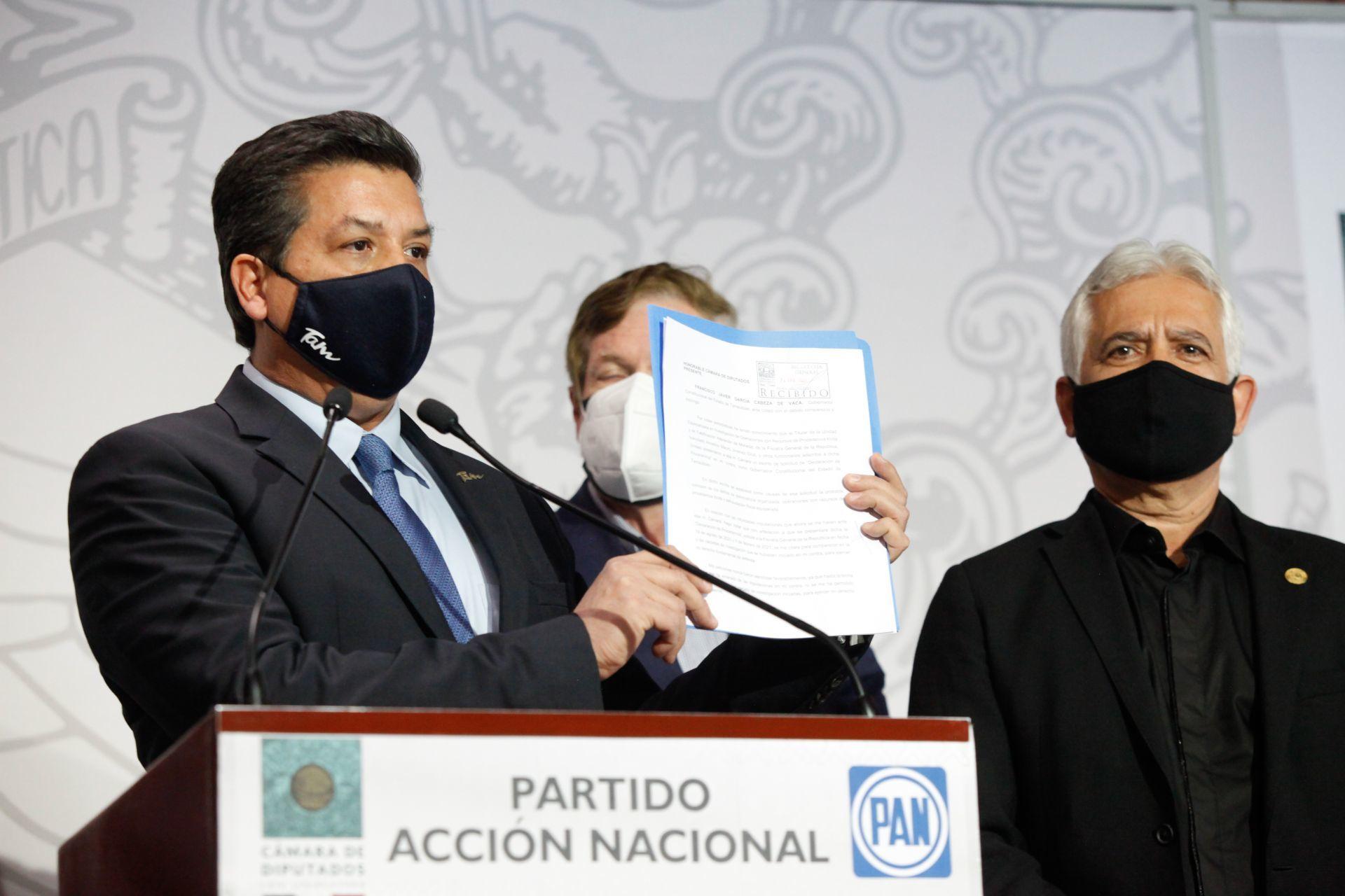 Desafuero, «un linchamiento político»: Francisco García Cabeza de Vaca