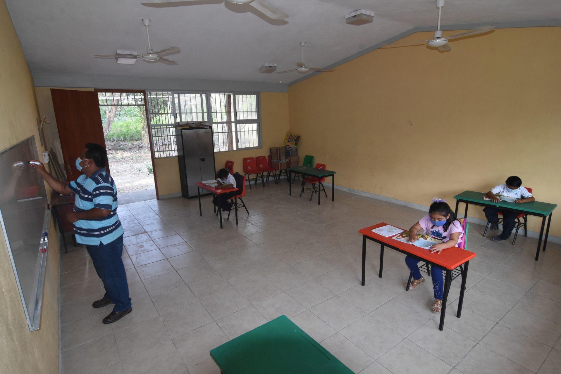 Campeche posterga segunda fase de regreso a clases presenciales