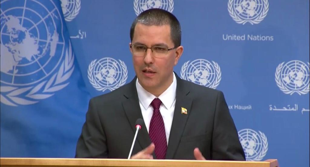 Canciller de Venezuela condenó ataques de Israel contra Palestina