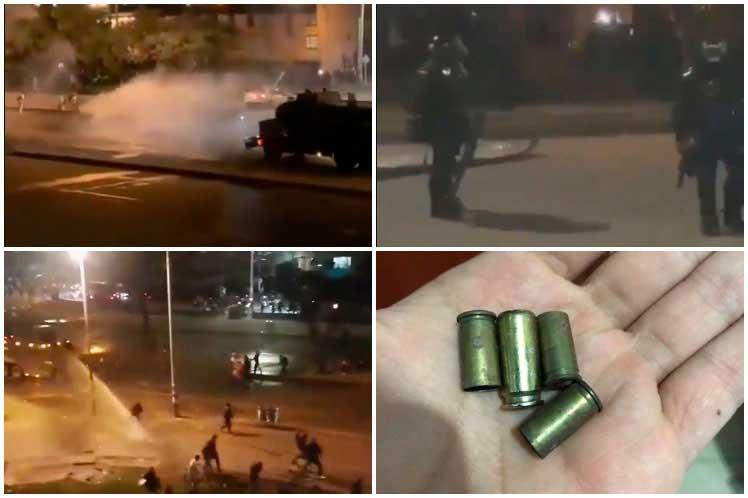 Otra noche de represión en Bogotá: Falleció joven que permanecía en coma por ataque policial
