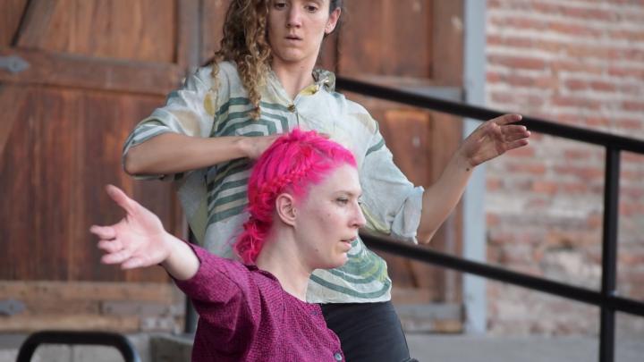 Proyecto internacional de danza se realiza en Matucana 100