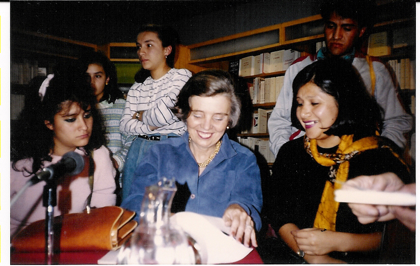 Elena Poniatowska en 1989