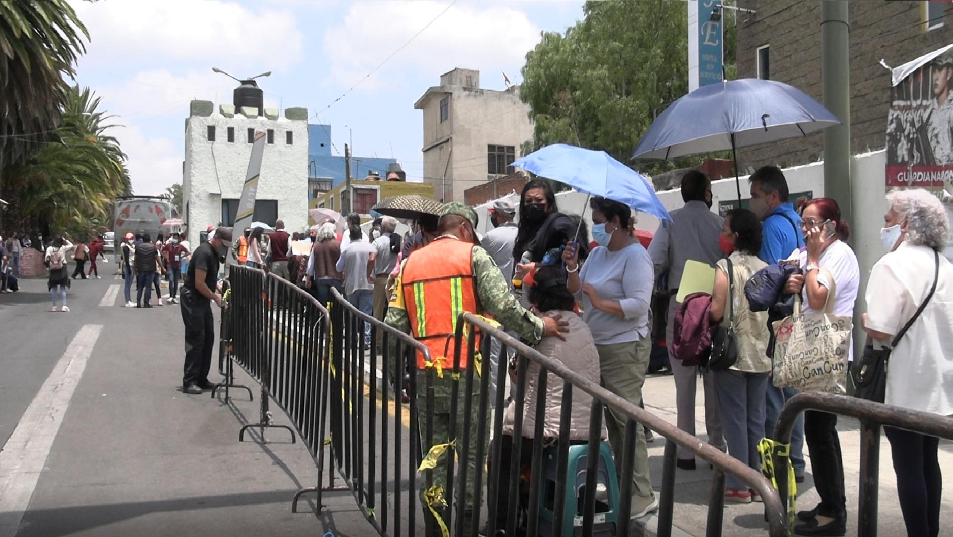 Cambian sede de vacunas en Puebla: del 6to Regimiento a unidades médicas