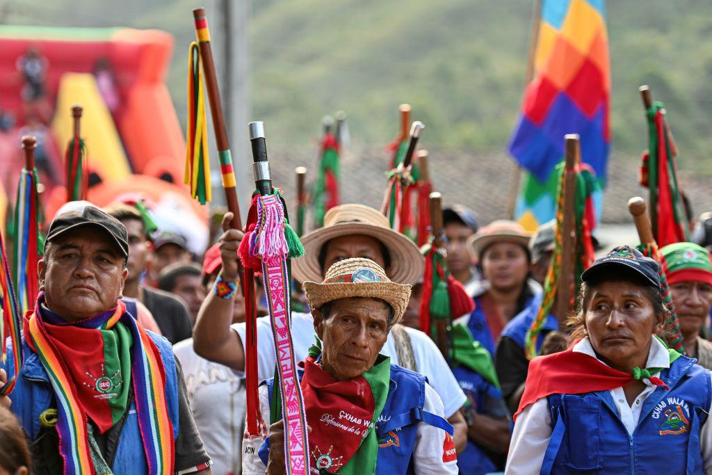La Guardia Indígena: la estrella del Paro Nacional en Colombia