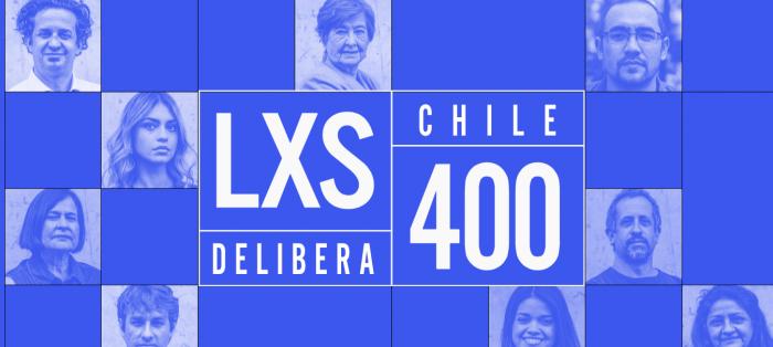 «Las y los 400: Chile delibera»: chilenos quieren seguro universal de salud y rechazan aumentar la edad de jubilación