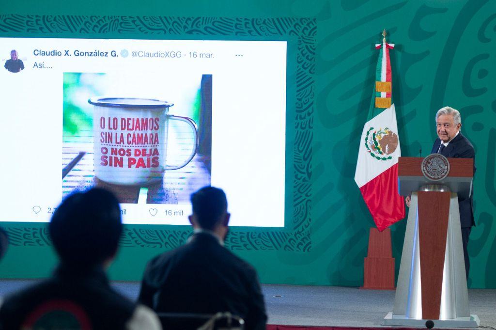 AMLO envía nota diplomática a EU por financiar a Mexicanos contra la Corrupción y la Impunidad