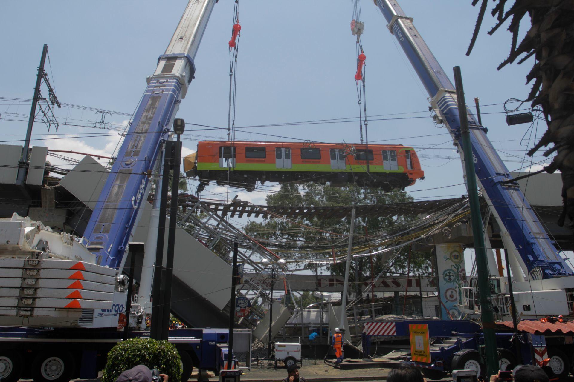 Resuelven reforzar con acero Línea 12 del Metro para evitar riesgos