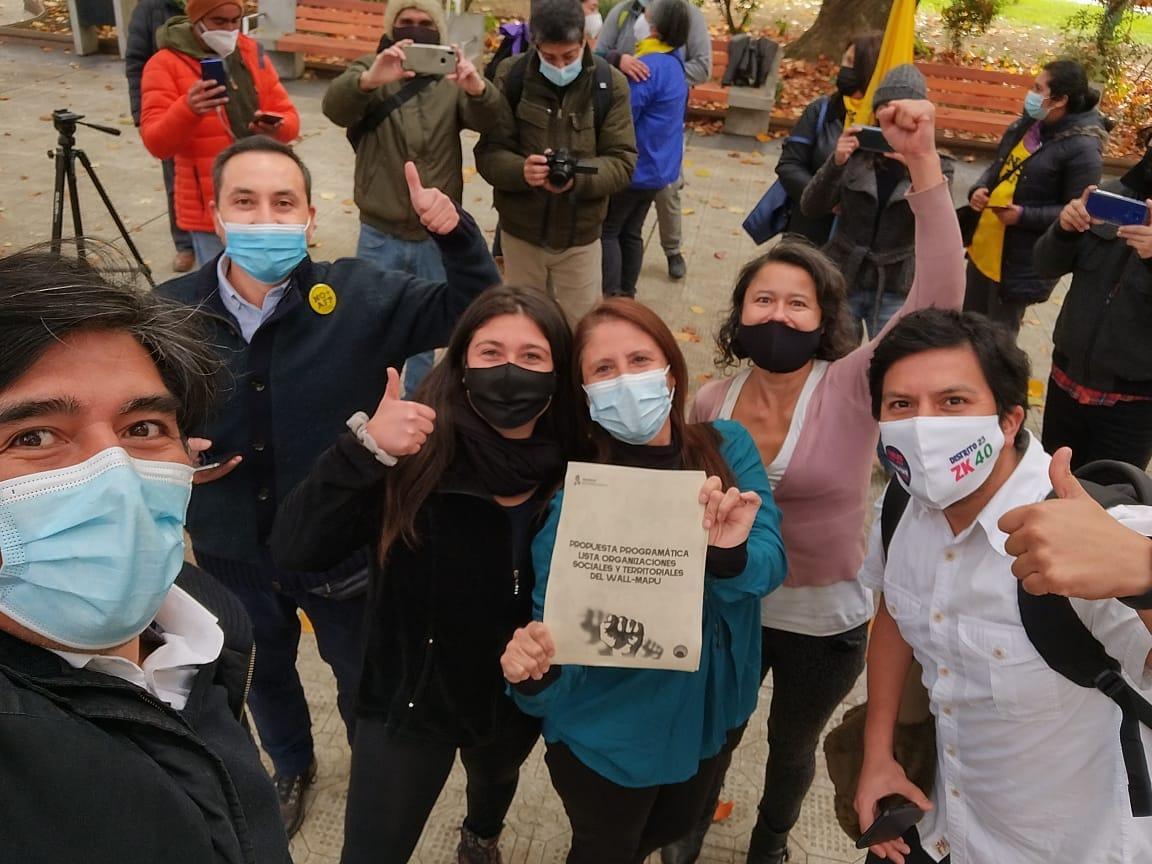 Organizaciones sociales y territoriales de Wallmapu cerraron campaña con firma de compromiso ciudadano