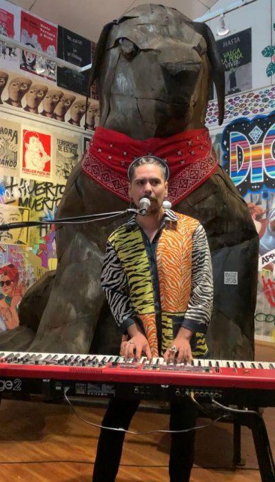Museo del Estallido Social presenta Nano Sesión musical de Pablo Diaulo
