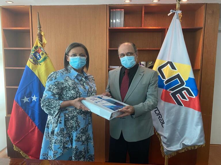 Pedro Calzadilla asume como nuevo presidente del Consejo Nacional Electoral de Venezuela