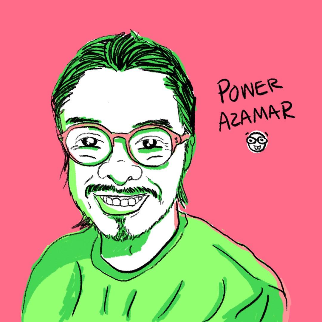 Power Azamar: mentor, ilustrador con alma de científico loco, observador, multiversal