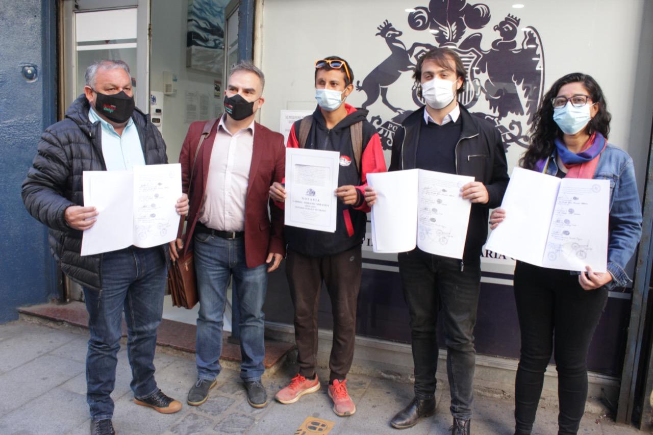 Por justicia, verdad y reparación a las violaciones de DD. HH. se unen Tania Madriaga, Rodrigo Mundaca, Jorge Sharp y Gianni Fenelli