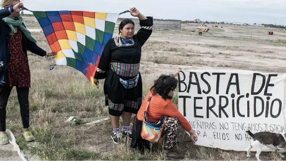 Mujeres indígenas de Argentina piden cese del terricidio en histórica marcha de 2.000.km