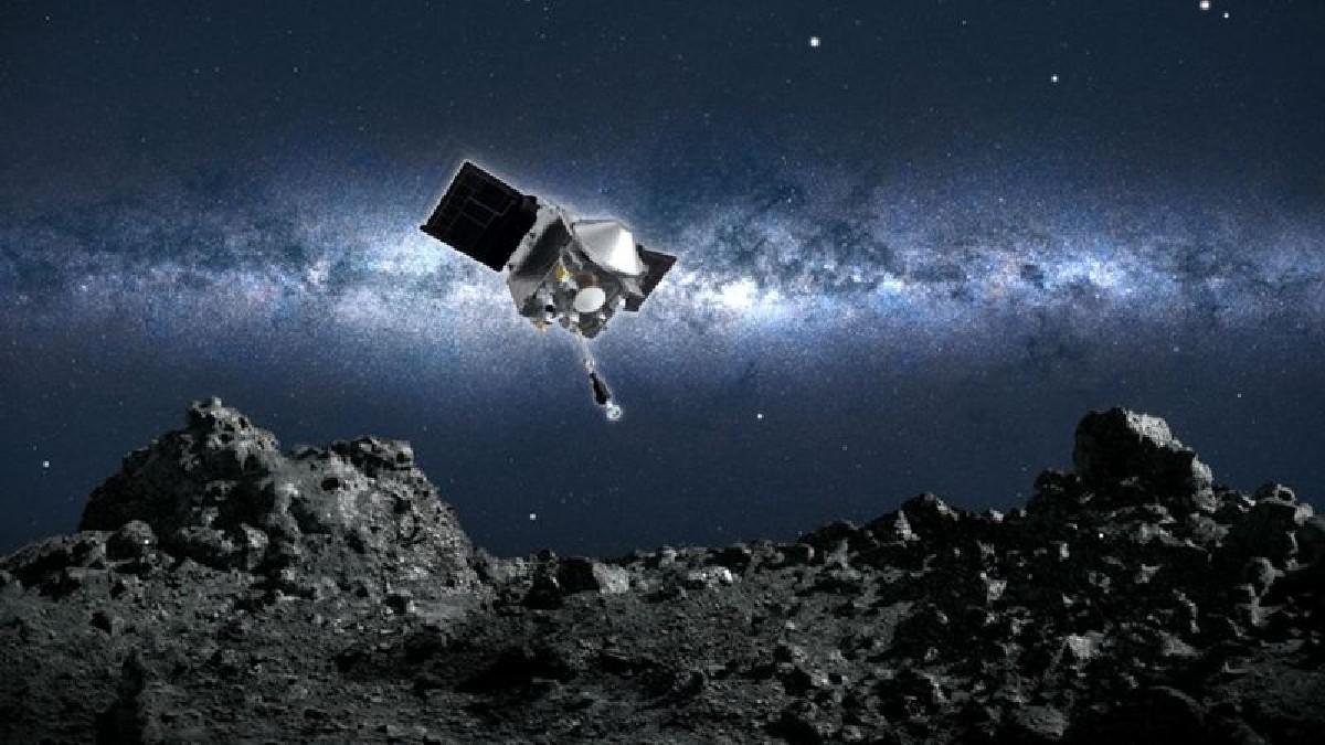 (Video) OSIRIS-REx culmina su misión en el asteroide Bennu y vuelve a nuestro planeta