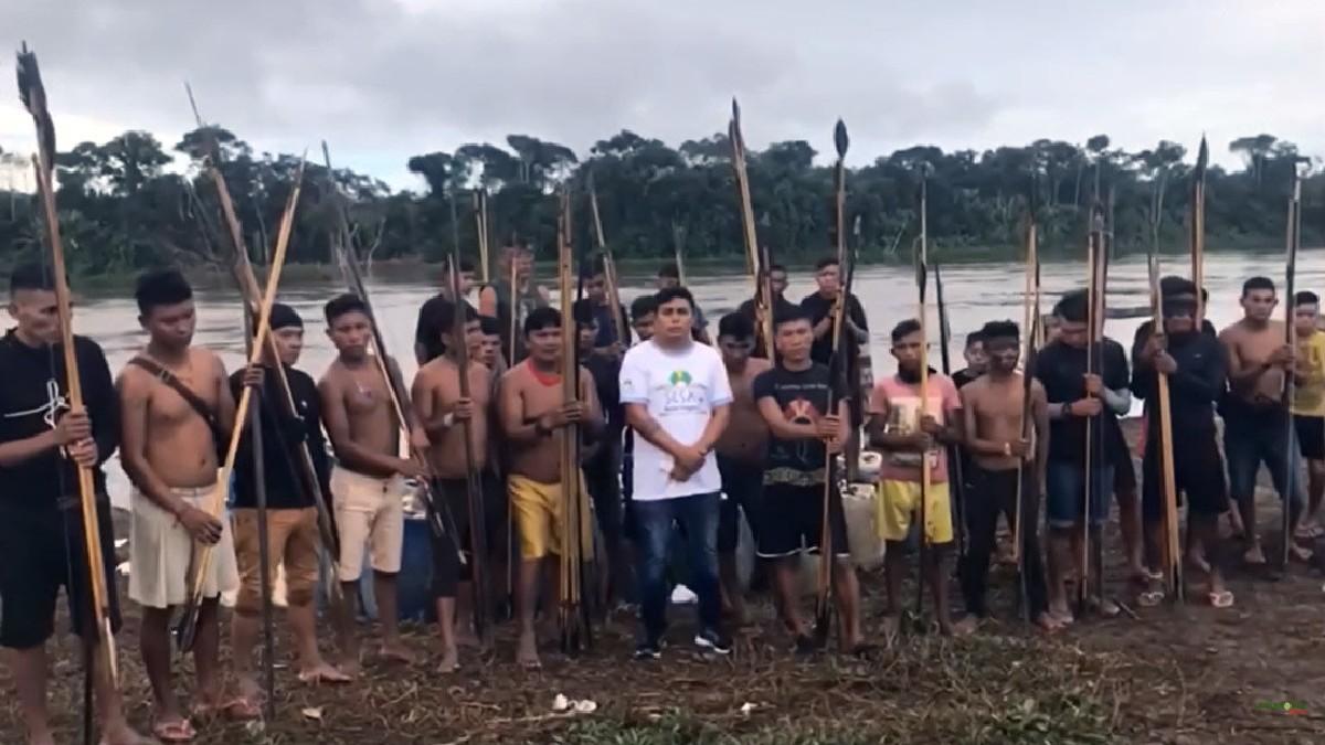 (Video) Indígenas yanomamis de Brasil denuncian ataque armado de garimpeiros