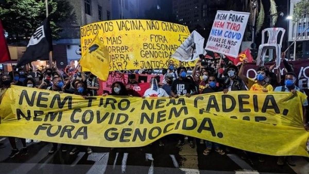 Se registran numerosas protestas en Brasil contra políticas gubernamentales racistas