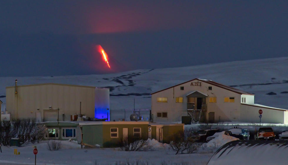 Alerta roja en Alaska por la erupción del volcán Gran Sitkin