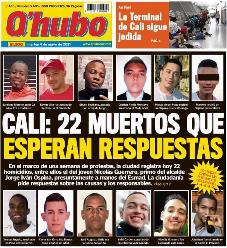 Denuncian que en Colombia habría una nueva masacre «Orión» pero a nivel nacional