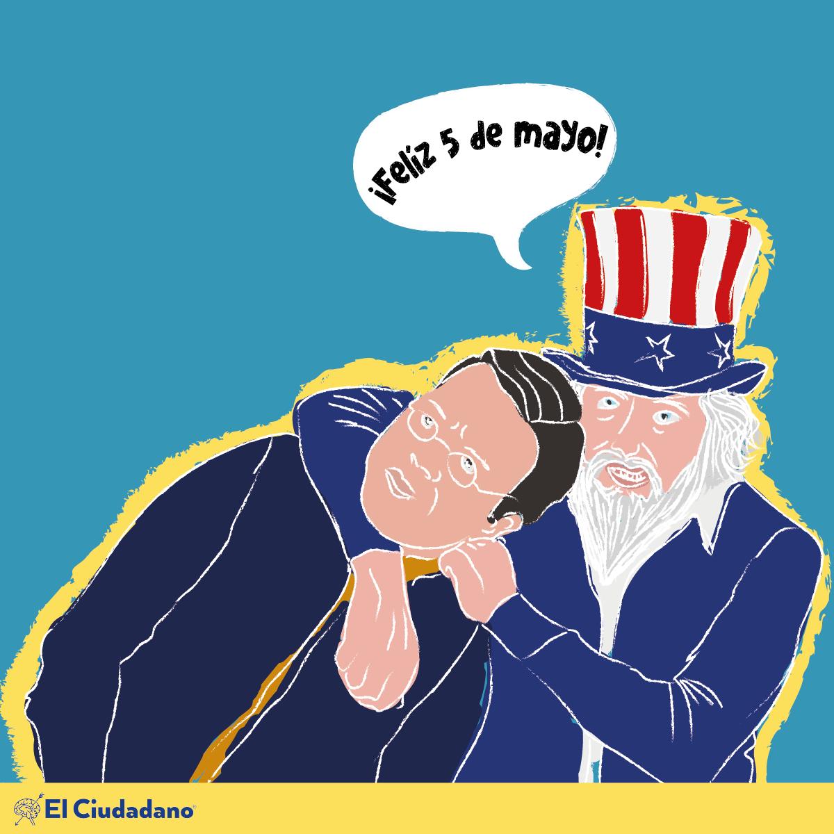 El singular enigma de la euforia estadounidense por el 5 de mayo