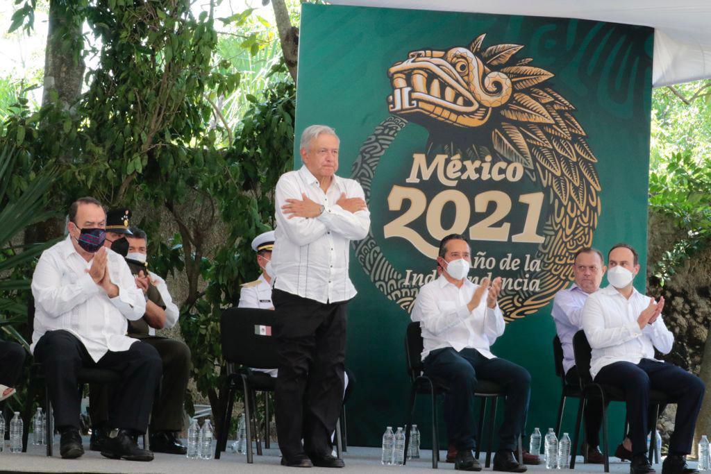 AMLO ofrece a mayas disculpas por abusos del pasado