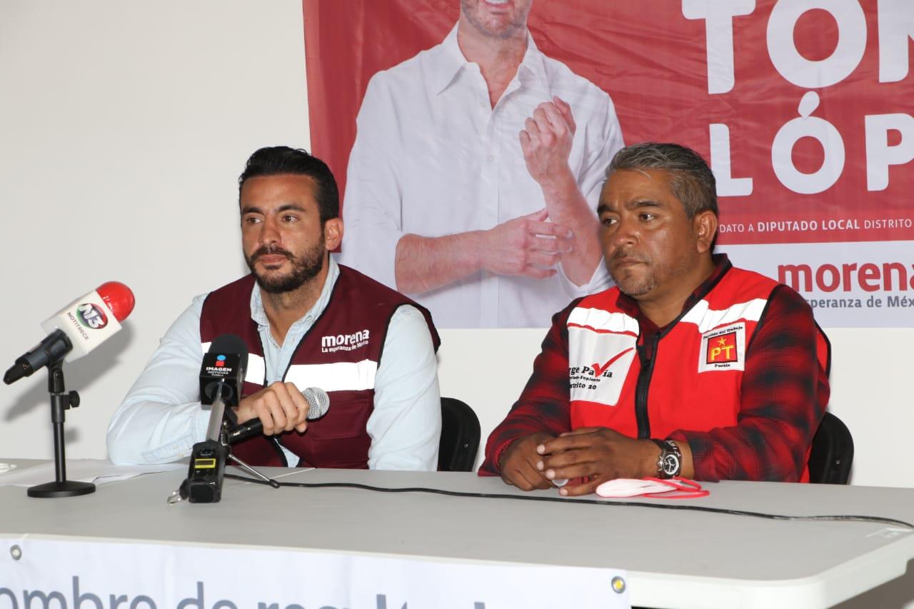 Denuncia candidato de Morena al Congreso local agresión durante recorrido en San Ramón