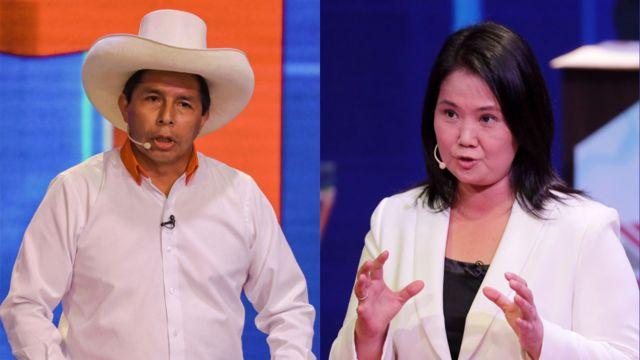 Castillo y Fujimori acuerdan realizar dos debates antes de segunda vuelta