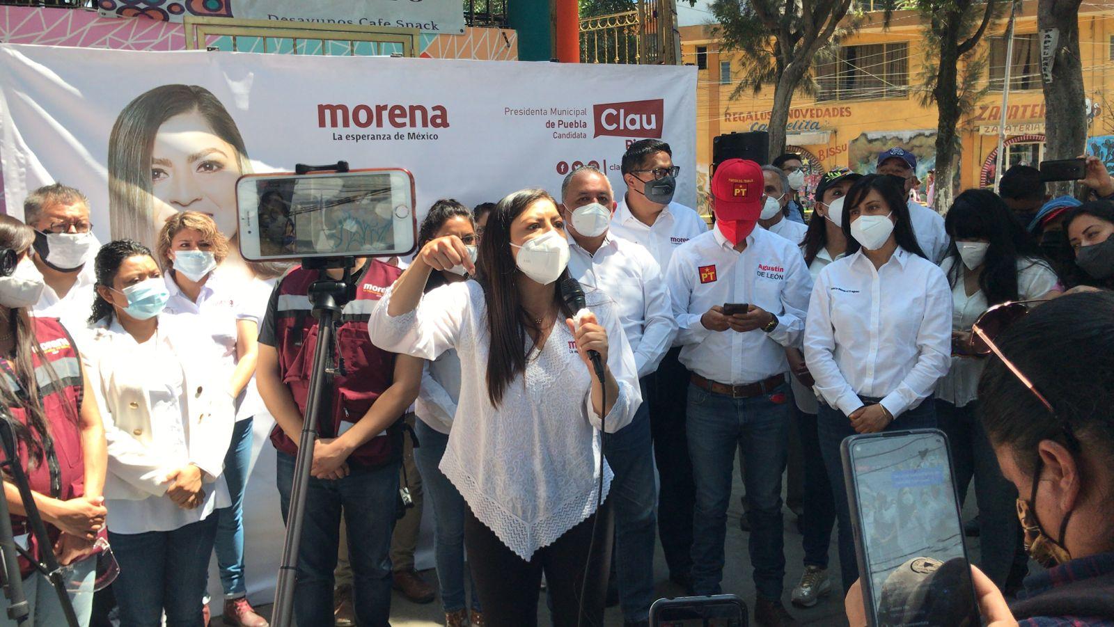 Arranca Claudia Rivera Vivanco su campaña a la alcaldía de Puebla